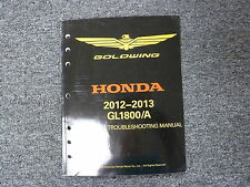 2012 2013 Honda GL1800 A Gold Wing Motorcycle Electrical Troubleshooting Manual