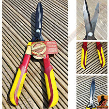 New Kingfisher Deluxe Garden Hedge Shears Trimming Rubber Grip Gardening Tools