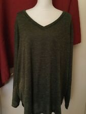 Faded Glory Woman's Plus Lightweight V Neck Sweater NWOT  Size 4X