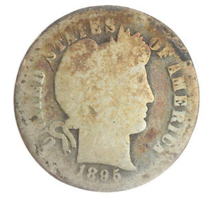 1895 O Barber Dime AG About Good Key Date AC200