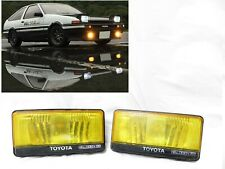 Geunine AE86 OEM Toyota Corolla Trueno Levin AW11 MR2 HOLOGEN YELLOW Fog Lights