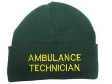 AMBULANZA TECNICO Beanie Cappelli Di Lana VERDE for Paramedico S John Medic EMT