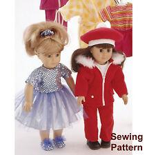 """Kwik Sew K2830 Pattern 18"""" Dolls Clothes"""