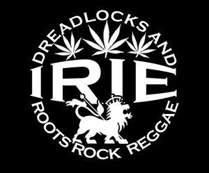 Reggae T-Shirt Rasta Roots Rock Dreadlocks Dread Irie Judah Lion Homage Jamaica