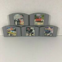 Lot of 5 Nintendo N64 Games | Cartridge Only | Tested | Cruisin USA, Asteroids