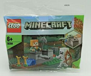 LEGO 30394 Minecraft - Die Skelett-Abwehr - Polybag NEU - The Skeleton Defense