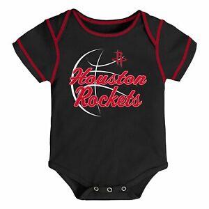 NWOT Houston Rockets Boys Infant Toddler Onesie Bodysuit Romper Gerber (18M) NBA