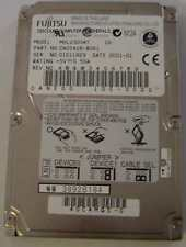 Fujitsu MHL2300AT 30GB 2.5in IDE Drive 4 in stock Tested Good Free USA Shipping