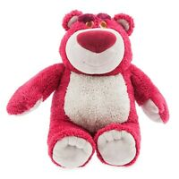"""Disney Authentic Toy Story - Lotso Bear Strawberry Scented Plush Toy Figure 12"""""""