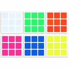 Full-Bright Vinyl Z-Stickers Replacement for 57mm 3x3 Cube