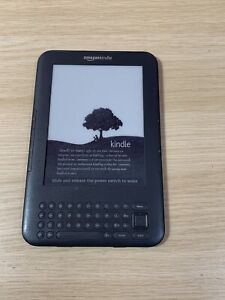 Amazon Kindle Keyboard D00901 (3rd Generation) Wi-Fi Spares Or Repair (A)
