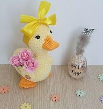 Blue Budgie Crochet Bird Miniatur Amigurumi Spielzeug für ... | 225x213