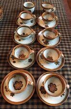 Ken Edwards Veracruz Mexico Pottery/Stoneware Tonala Brown 18 Piece Set.