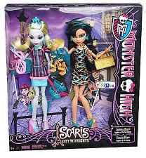 "MONSTER HIGH SCARIS Series_LAGOONA BLUE & CLEO DE NILE 9"" Dolls_Exclusive 2 Pack"