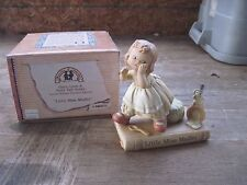"""1993 Enesco """"Little Miss Muffet"""" Figure..Once Upon a Fairy Tale Series..Gd.Cond"""