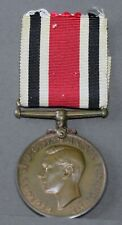 More details for george vi bronze special constabulary long service medal. james t baker