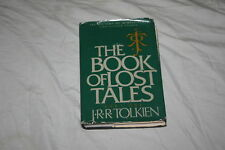 The Book of Lost Tales Part One by J.R.R. Tolkien 1984 Hardcover
