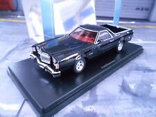 FORD Ranchero Pick up Pick-up schwarz US Muscle Car NEO Highend Resine 1:43