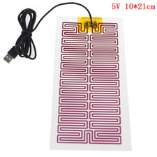 1X USB 5V 10CM*21CM Heating Heater Winter Warm Plate For Waist Shoes Pad LW SL