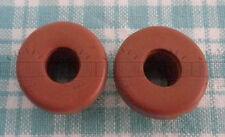 2 Red Airlock Grommet For Homebrew Fermenting Bin Bucket Lids & Fermenter Caps