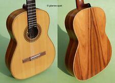 4/4 Konzert-Gitarre Höfner Anno HC93 Fichte Palisander Sattel 50 mm Rar Top!