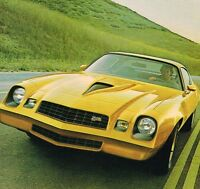1978 Chevy CAMARO Sales Brochure / Catalog : Z28,Rally Sport...Mint!