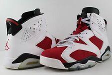 Nike Air Jordan Retro VI 6 Carmine Red White Black Size 11