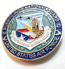 PUERTO RICO AIR NATIONAL GUARD Guardia Nacional Aerea Challenge Coin TAINO Force