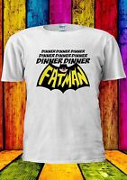 Dinner Dinner FatMan T-shirt Vest Tank Top Men Women Unisex 625