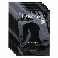 LANCOME GENIFIQUE Youth Activating Second Skin Mask 6PCS Sample Size Authentic G