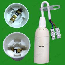 A Vite Piccola Edison Ses E14 Lampadina Lampada Holder Socket con Blocco terminale M10
