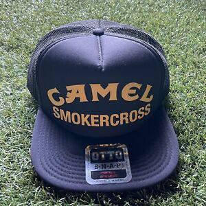 Camel Smokercross Otto Hat Tall Boy - Black SnapBack One Size