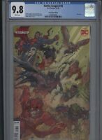 Justice League #33 CGC 9.8 DCeased VARIANT cover