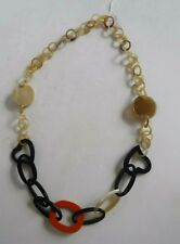 Necklace made in South Africa Handcrafted Natural Cow Horn Heart Link