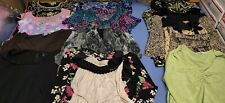 Womens Blouse Top Tank Top Lot Size Large 15 Pieces Pre Owned