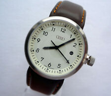 Rare Audi Classic Racing Sport Car Accessory Round Design Made in Germany Watch