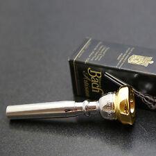 Genuine GOLD RIM & CUP Bach Artisan Trumpet Mouthpiece, 3C #27 Throat