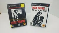 Max Payne 1 & 2 PS2 Games Complete