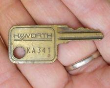 Old Original KA341 ka341 Key Haworth File Cabinet Desk Office Furniture Other