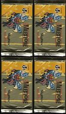 Card 4 Packs - DC Milestone:the Dakota Universe - Skybox 1993, 8 cards per pack