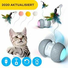 Ventvinal Interactive Cat Toys Ball, Automatic Self Rotating Rolling Balls,USB