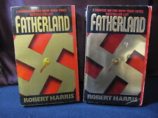 Fatherland: Set of 2 by Robet Harris - Incl. Shipping!!