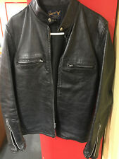 GENUINE ORIGINAL 1966 BUCO LEATHER RIDING SHIRT/ JACKET MADE IN AMERICA SIZE 42