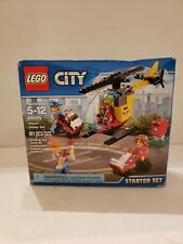 LEGO City Airport Starter Set 60100 - Sealed Helicopter - Airplane - Minifigure
