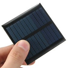 5.5V 65mm x 65mm 90mA Mini Cellule Panneau Solaire 0.6 Watt Polycristallin Neuf