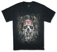 Slayer Melting Skull On Eagle 2014 Tour Black T Shirt New Official Band Merch