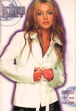 BRITNEY SPEARS 2000 OOPS! I DID IT AGAIN TOUR CONCERT PROGRAM BOOK BOOKLET