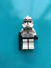 LEGO Star Wars Clone Trooper Ep.3, Dark Red Markings SW130 7250 minifigure