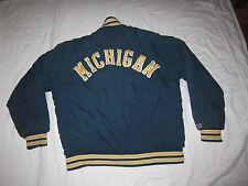 Awards USA Michigan Wolverine University College Jacket Mens Large Hip Hop