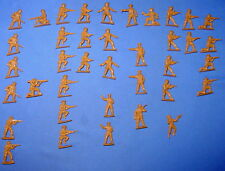 WWII Japanese Infantry Plastic Army Men (38) Tan LOT #1